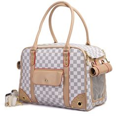 Betop House Pet Carrier Tote Around Town Pet Carrier Portable Dog Handbag Dog Purse for Outdoor Travel Walking Hiking White 13781067787 -- See this great product. (This is an affiliate link) Dog Carrier Purse, Dog Purse, Cat Carrier, Pug, Chihuahua, Yorkie Poodle, Pomeranian Puppy, Designer Dog Carriers, Designer Bags