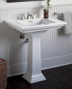 Memoirs pedestal sink- sold at homedepot.