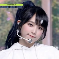 최예나 choi yena, #kpop #izone #gg #girlgroup #yena #icons Yuri, Girl Group, Hoop Earrings, Icons, Kpop, Eyes, Fashion, Moda, Fashion Styles