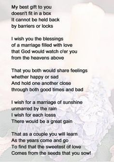 Poems For My Best Friend On Her Wedding Day - The Best Wedding 2018