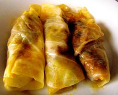 """""""Wrapped children"""" (Dominican Traditional Dish) Recipe by Arturo Dominican Republic Food, Good Food, Yummy Food, Comida Latina, Caribbean Recipes, Latin Food, Food Dishes, Main Dishes, The Best"""