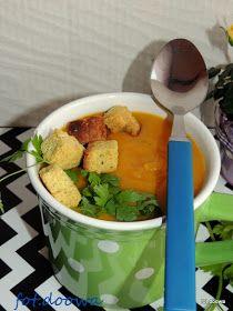 Czy ja już pytałam? czy Wy lubicie zupy? czy jadacie je często? Czy wystarczy na obiad zupa czy musi być drugie danie? U nas jeśli zupa je...