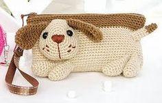 Risultati immagini per cartuchera a crochet