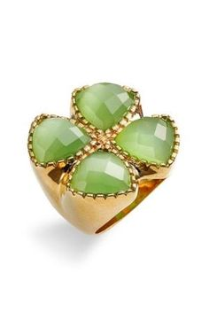 Ariella Collection Clover Cat's Eye Ring - Nordstrom by tabitha