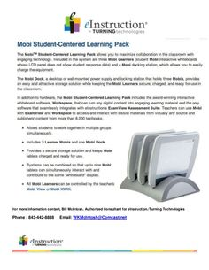 Mobi student centered learning pack by William  McIntosh via slideshare