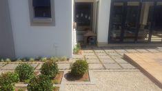 Garden Landscaping, Garden Design, Garage Doors, Sidewalk, Patio, Landscape, Outdoor Decor, Gardens, Home Decor