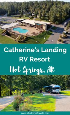 Kayak Camping Ideas Catherine's Landing RV Resort in Hot Springs Arkansas is an amazing campground with tons of amenities including a great heated pool area with splash pad, play ground, dog park, disc golf course, kayak Kayak Camping, Kayak Boat, River Kayak, Arkansas Camping, Arkansas Vacations, Best Rv Parks, Hot Springs Arkansas, Rv Parks And Campgrounds, Camping Checklist