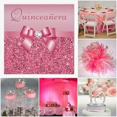 Pretty in Pink Sweet Fifteen Theme #quinceanera