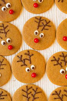Олени. #Рождество #печенье #Christmas #cookies