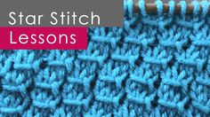 How to Knit the Star Stitch Pattern with Studio Knit