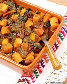 Smoky Braised Mexican Pumpkin Recipe
