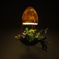 hanglamp 'plant en lamp nr3' van Mote | Markita.nl