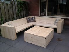 wooden set made by allert and jaap-martijn
