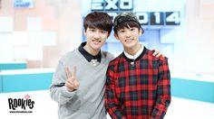 D.O - 141003 SMRookie website update - On the set of Mnet K-Pop Time Slip 'EXO 90:2014' - [HQ] Credit: Official SMRookies website. (엠넷 K팝 타임슬립 'EXO 90:2014')