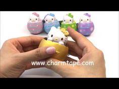 Hello Kitty Choco Egg Squishy - Gold Egg by Sanrio