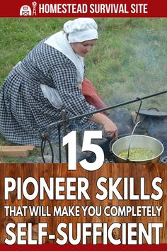 If the off-grid way of life is calling to you, you already have an adventurous spirit. However, to succeed as a self-sufficient homesteader, you also need to learn these basic pioneer skills. Survival Life, Homestead Survival, Survival Food, Wilderness Survival, Camping Survival, Survival Prepping, Survival Skills, Outdoor Survival, Zombies Survival