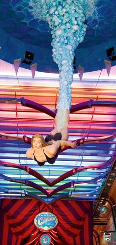 A different perspective on the high dive. #FreedomOfTheSeas