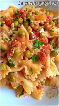 Farfalle Pasta, Penne, My Favorite Food, Favorite Recipes, Homemade Butter, Stuffed Hot Peppers, Light Recipes, Gnocchi, Pasta Recipes