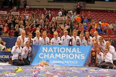 Simply Magic.  The Oklahoma Sooners hit the best score in NCAA Championships history, and needed every thousandth-of-a-point to bring home the program's first national championship.  OU and Florida were named co-national champions with scores of 198.175. It was the first time there have been co-winners at the NCAA Division I Women's Gymnastics Championships.
