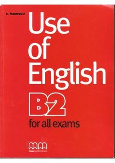 Use of-english-b2-for-all-exames