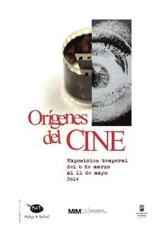 """Exposición temporal """"Orígenes del cine""""."""