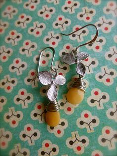 drop of honey by birdinhanddesign on Etsy, $14.25