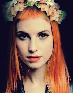 Hayley Williams why must you be so beautiful?! <3