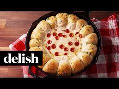 Best Garlic Bread Pizza Dip Recipe-How To Make Garlic Bread Pizza Dip—Delish.com