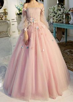 Off-the-shoulder wedding dress longer sleeves Prom Dresses Unique Prom Outfit Long Evening Gowns strapless party dress Prom Dresses Long With Sleeves, Unique Prom Dresses, Long Prom Gowns, Formal Evening Dresses, Ball Dresses, Elegant Dresses, Homecoming Dresses, Dress Long, Wedding Dresses