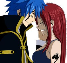 Fairy Tail Erza and Jellal | Render erza and jellal - Fairy Tail - Animes et Manga - PNG image sans ...