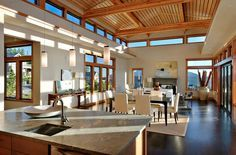 Love this home - lots of light, open floor plans.