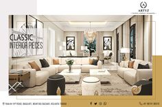 Furniture Showroom, Luxury Furniture, Big Bazaar, Classic Interior, Bliss, Personality, Living Room, Store, Table
