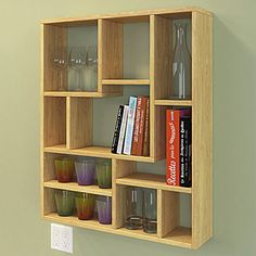Vintage danish teak wall mounted shelving system model fm designed by kai kri - Construire une etagere ...