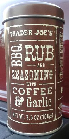 What's Good at Trader Joe's?: Trader Joe's BBQ Rub and Seasoning with Coffee & Garlic