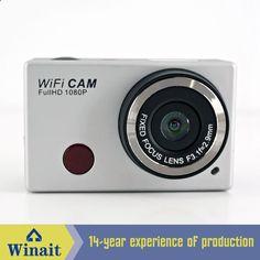 Brand Action Sport Camera Full HD 1080P Fixed Focus Mini 5mp IR Remote Control 170 Degree Wide Angle Lens Mini Camera