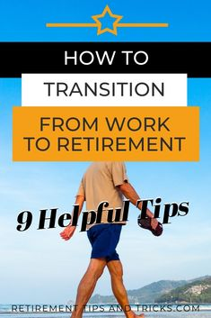 In this article, I explain how to transition from work into retirement and give you 9 helpful tips that will make it easier. Retirement Budget, Preparing For Retirement, Retirement Advice, Retirement Cards, Early Retirement, Retirement Planning, Retirement Celebration, Elderly Activities, Dementia Activities