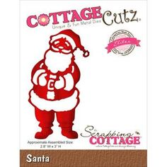 The Scrapping Cottage > Santa Elites Die - Cottage Cutz: A Cherry On Top