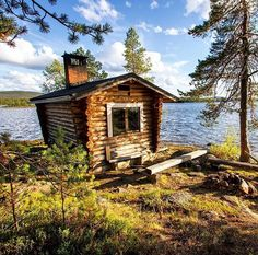 Best moments & holidays in the summer cottage. Missing it!  Inari, Finland  Picture by @zapalarkus