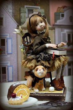 Коллекционные куклы ручной работы. Ярмарка Мастеров - ручная работа Кукла Мечта. Handmade.