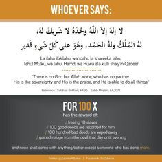 I like this dua I will Inshallah try to remember to say it 100 times everyday.