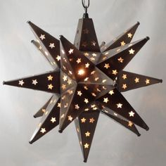 - Overview - Details - Why We Love It - Moravian stars pendant lights are super cool, but why pay those high designer price-tags - we've found you the same look and craftsmanship for much less. Each a More