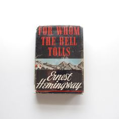 Ernest Hemingway  For Whom the Bell Tolls  by ThisCharmingManCave, $450.00
