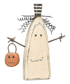 Take a look at this Chunky Ghost Sitter by Primitives by Kathy on #zulily today!