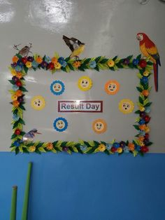 Ideas For Paper Flowers Bulletin Board If you are looking for Paper flowers bulletin board you've come to the right place. We have collect images about Paper flowers bulletin board includin. Spring Bulletin Board Art Room Birds Painted In Transparency Paper Flower Art, Paper Flowers Craft, Flower Crafts, Paper Crafts For Kids, Preschool Crafts, Diy And Crafts, Flower Bulletin Boards, Bulletin Board Borders, Fall Crafts