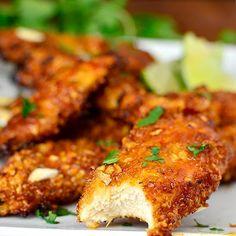 Thai+Sticky+Chicken+Fingers+@keyingredient+#chicken+#bread