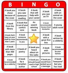 Reading Bingo 2013 Challenge