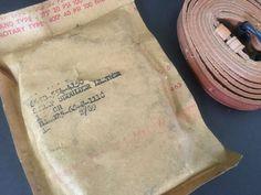 Vietnam War U.S. Military Strap Shoulder, Leather Packaged 2/69 AP1022