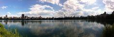Panorama di New York City da Central Park