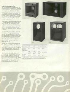 Pro Audio Speakers, Horn Speakers, Hifi Audio, Quad, Stage Equipment, Speaker Plans, Loudspeaker, Audiophile, Speakers
