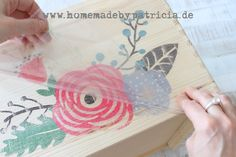 Homemade by Patricia Morgenthaler: How to: Bildtransfer per Tintenstrahldrucker - quick and easy